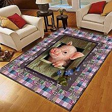 YHML Pig - Tappeto taglia XL, 2,7 x 1,7 m