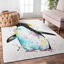 YHML - Tappeto a forma di pinguino, misura S, 91,4
