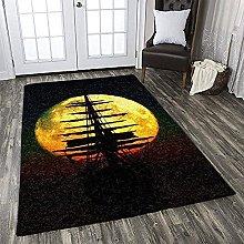YHML - Tappeto da pirata XL, 2,7 x 1,7 m