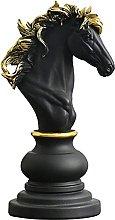 YHNMK Pezzo Decorativo della Statua degli Scacchi,
