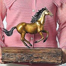 YHNMK Statua in Rame Puro, Scultura in Ottone,