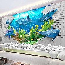 YIERLIFE 3D Non Tessuto Carta Da Parati Mondo