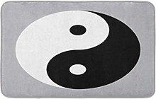 Ying Yin Yang Simbolo Senza Bordo Anteriore Cucina