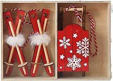 yinghuochong Decorazione natalizia 3 PZ Ornamenti