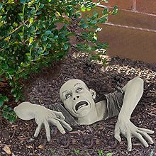 Yizc Zombie Statue da Giardino,novità Resina