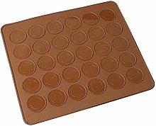 YMKT 1Pc Macaron Del Silicone di Cottura Mat per