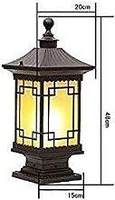 YMLSD Lampade da Parete, E27 Pilastro Luce,