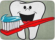 YnimioHOB Tappeto da Bagno per Dentisti Happy