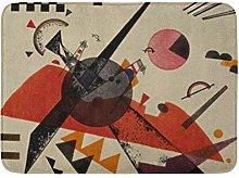 YnimioHOB Tappeto da Bagno Wassily Kandinsky
