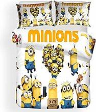 Yomaco Minions - Set di biancheria da letto