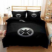 YOMOCO Marvel Movie - Set di biancheria da letto