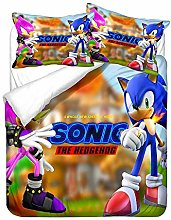 YOMOCO Sonic The Hedgehog - Set di biancheria da