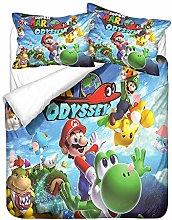 YOMOCO Super Mario Sonic, set di biancheria da