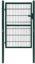 Youthup - Cancello staccionata 2D (singolo) verde