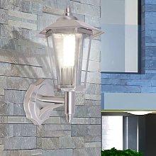 YOUTHUP Lampada da parete per esterno in acciaio