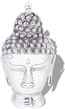 YOUTHUP Testa di Buddha Decorazione in Alluminio