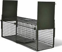 YOUTHUP Trappola per Animali Vivi con 2 Porte