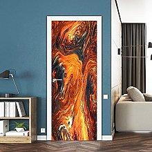 YQLKD Adesivo per Porta Murale Adesivi per Porte