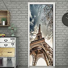 YQLKD Poster per Porta Adesivo Murale 3D per Porta