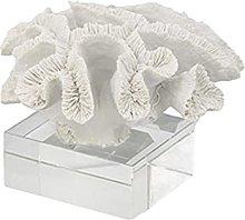 YQLKD Scultura Decorativaresina Coral Figurine