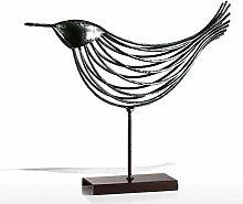 YQLKD Statua Semplicescultura in Metallo per