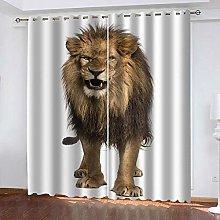 YTSDBB Occhielli per Tende Leone animale L 110 x A