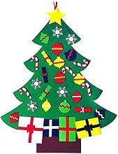 YukeShop - Albero di Natale fai da te in feltro
