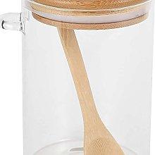 YukeShop - Barattolo in vetro trasparente