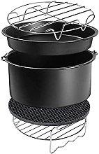 YukeShop Set di accessori per friggitrice ad aria