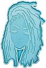 YUSHU Dread Girl Stampo in silicone Tipo di testa