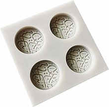 Yushu Eid Mubarak - Stampo in silicone per torte e