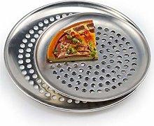 YWSZY In Acciaio Inox Pizza Padelle con Fori