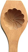Yxinghai - Stampo in legno 3D con motivo floreale,