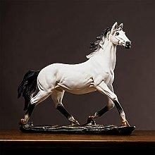 YXYSHX Scultura Resina Cavallo Statua Animale