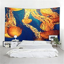 YYRAIN Blu Animal Tapestry Beach Asciugamano