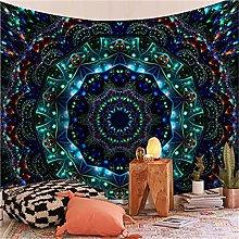 YYRAIN Blu Mandala Stampa Regalo Decorazione della