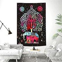 YYRAIN Bohemian Style Wall Hanging Tapestry Modern