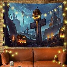 YYRAIN Festa di Halloween Arazzo Bar Banchetto