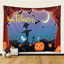 YYRAIN Halloween Arazzo Casa Parete Appesa Dipinti