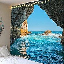 YYRAIN Stampa 3D Spiaggia Mare Paesaggio Digitale