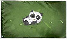 Zaino Borsa Bandiera Giardino Panda Modello
