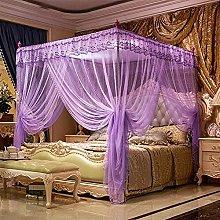 Zanzariere Purple Princess 4 Corners Post Bed Bed