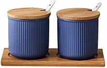 ZCX Vaso di condimento in Ceramica Set for la casa