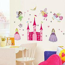 Zebraa - Adesivo murale Wall Sticker Princess Fill