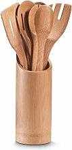 Zeller 25274 Porta-Utensili da Cucina, Bamboo,
