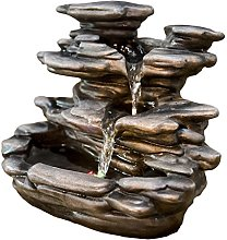 Zen'Light Guilin Fontana da Interno, Resina,