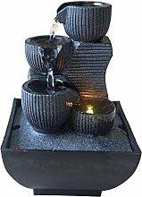 Zen Light - Kini, Fontana da Interno con Pompa e