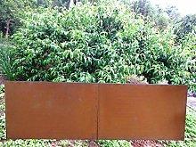 Zen Man 031846 - Paravento da giardino in metallo