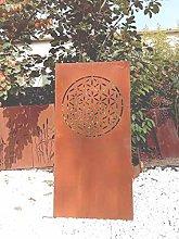 Zen Man 032024 - Paravento da giardino in metallo,