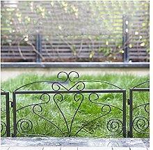 ZENGAI Decorativo Recinzione Giardino di Confine
